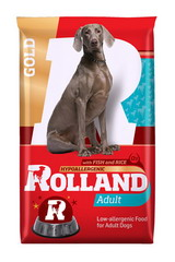 Rolland Gold Hypoallergenic With Fish And Rice